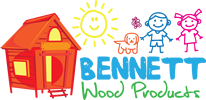 Bennett Wood Products - Garden Playhouses